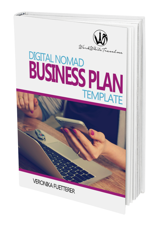Digital Nomad Business plan template no shadow